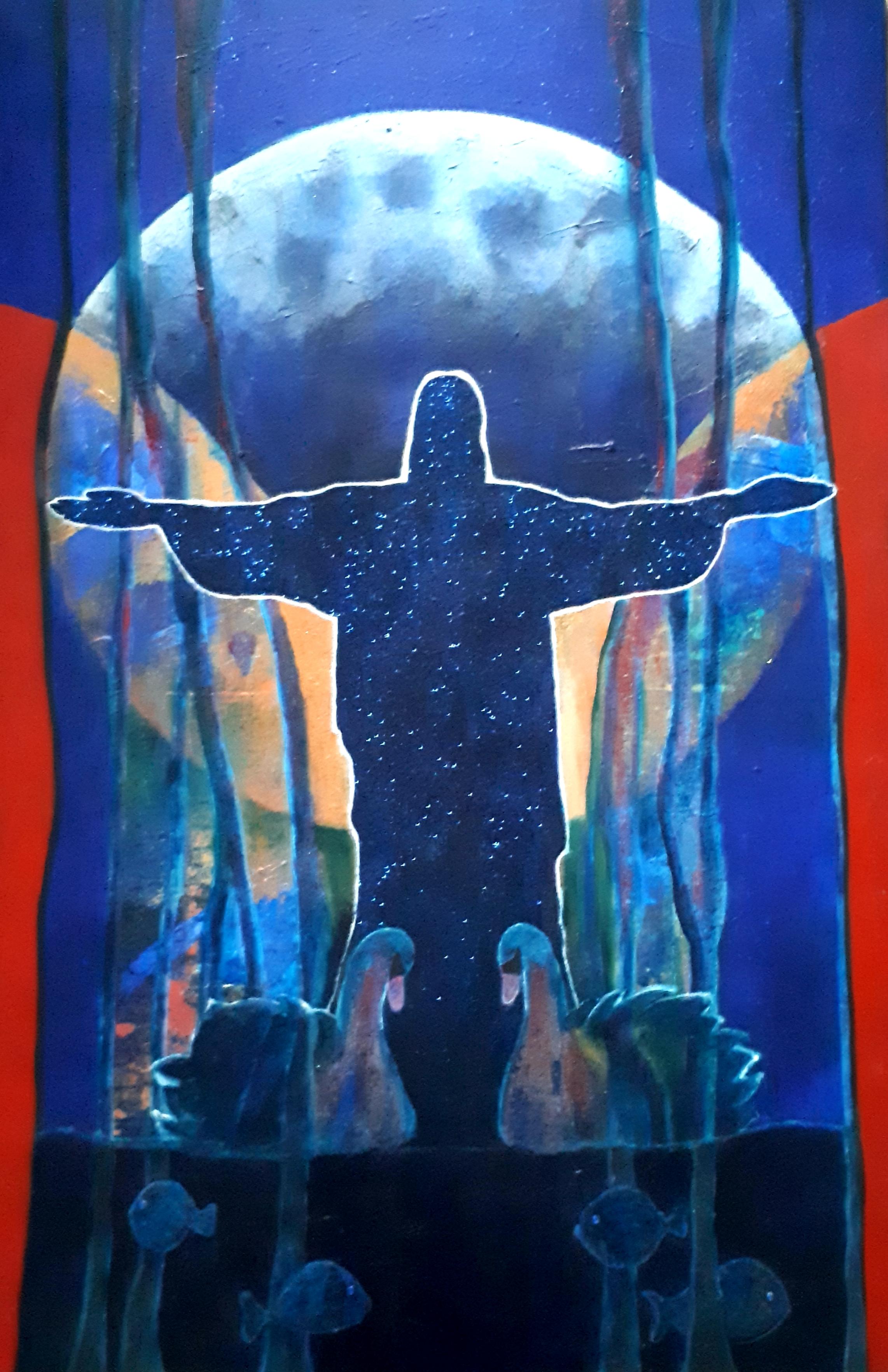 Sanctus 180 x 120 cm available